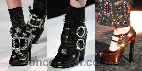 Обувь 2013 Marc Jacobs и Louis Vuitton