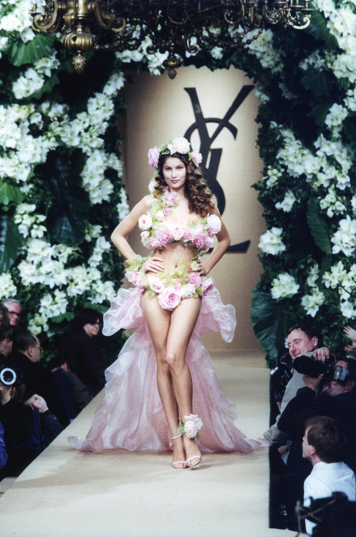 Yves Saint Laurent Spring Summer 1999 couture