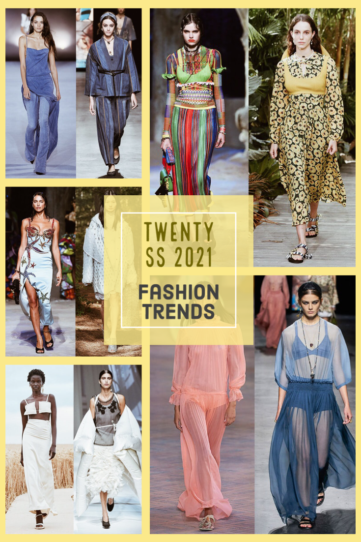 Twenty fashion trends SS2021